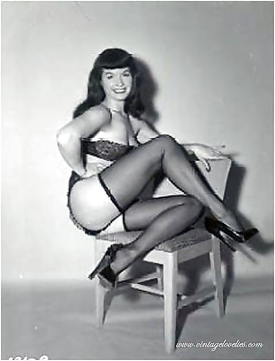 Pin-up star bettie page..