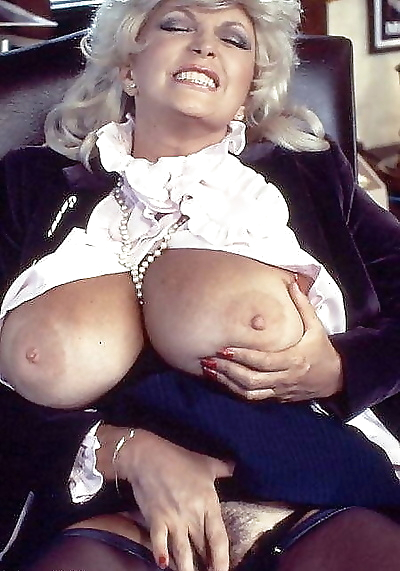 Busty retro blonde candy..