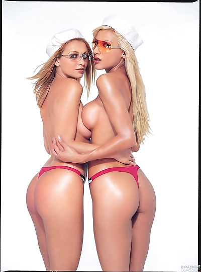 Two lesbians face to face in..