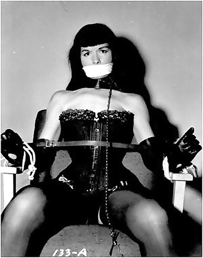 Retro bondage pics with bettie page that were made and collected in 60s - part 1537