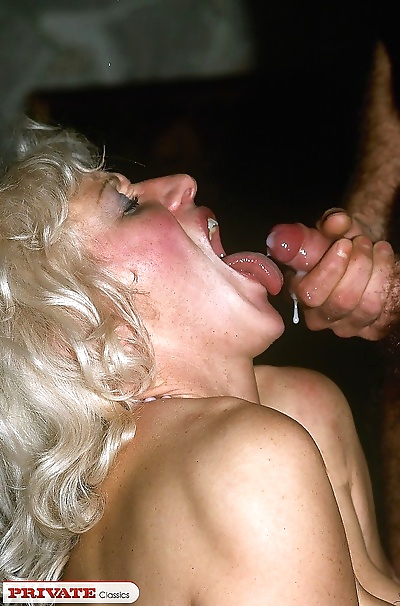 Dirty slut gets gangbanged hardcore style and then creampied - part 14